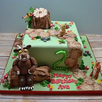 Gruffalo themed cake