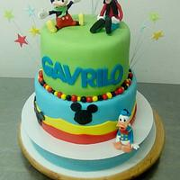 Mickey, Donald Duck and Goofy!