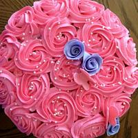 12th anniversary cake