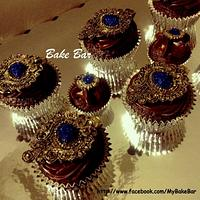 Jeweled cupcakes by Prats
