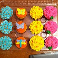 Spring Cupcakes by Jen Scott