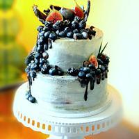 White chocolate cake