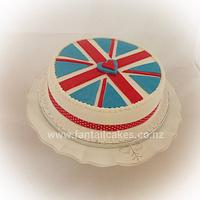 Patriotic Lady by Fantail Cakes