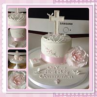 First Holy Communion Cake For My Daughter