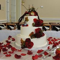 Red's wedding cake
