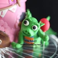 Princess & Dragon Cake