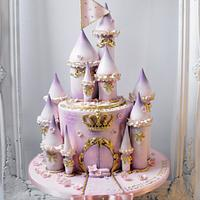 Fairytale Princess Castle cake