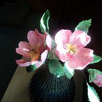 Gumpaste Camellia