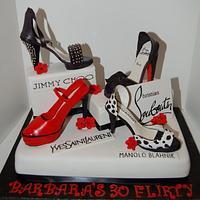 Designer Heel Cake