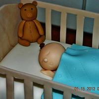 Baby crib by Maureen