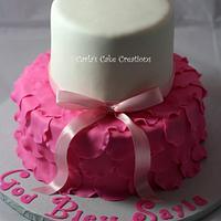 Elegant Ruffled skirt Cake