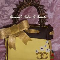 Channel Purse Cake