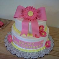 Retirement cake by Kimberly
