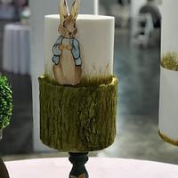 Peter Rabbit  pintado a mano