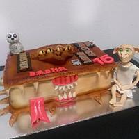 harry potters cake
