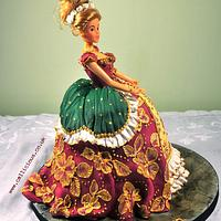 Baroque Princess Cake