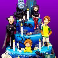 Hotel Transilvania Halloween Cake