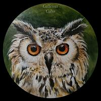 Eagle Owl Plaque