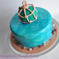 Sea Glass Cake