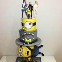 minions 3 cake
