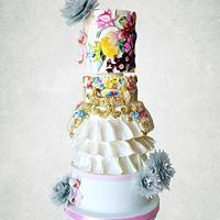 Couture Cakers International - Design Inspiration from Mary Katrantzou