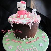 Hello Kitty cake for Sarah