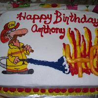 40th Birthday Fireman