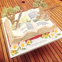 Guess how much I love you book cake