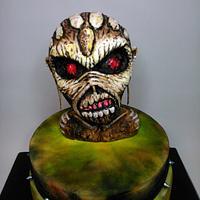 Eddy Iron Maiden cake