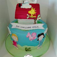 Snoopy cake by manuela scala
