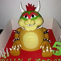 bowser cake