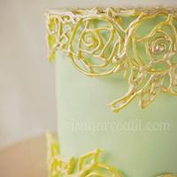 Vintage Caged Cake