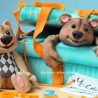 Oh, Teddy Bear, Teddy Bear Cake by marulka_s