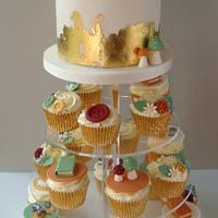 Victoriana Wedding Cupcakes