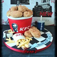 KFC cake