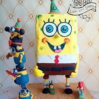 Chocolate spongeBob!