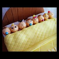 Babies in a Bed Cake by Sweet Treats of Cheshire