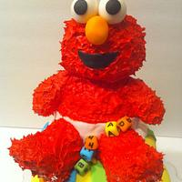 Elmo Babyshower Cake