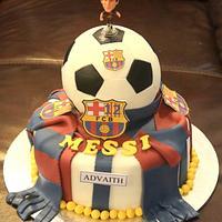 The Football Cake