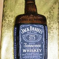 Jack Daniels Groom's Cake