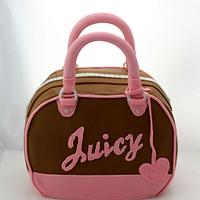 Juicy Couture Handbag Cake