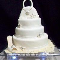 Fashion Beach Birthday, Cake
