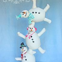 Baking snow family
