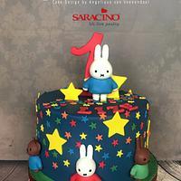 Miffy & friendscake