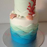 Marea Wedding Cake