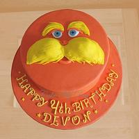 Lorax Birthday cake