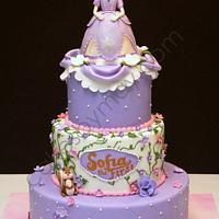 Sofia the First by Cakes by Maylene