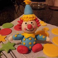 Sugarpaste Clown