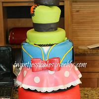 Mickey & friends cake