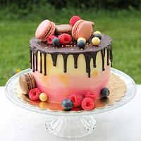 My first drip cake :)